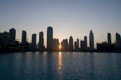 Edifícios de Dubai Fotos de Stock Royalty Free