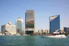 Edifícios de Dubai Creek Fotos de Stock