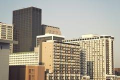 Edifícios de Louisville fotografia de stock royalty free
