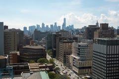 Edifícios de New York fotografia de stock