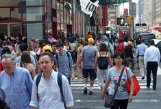 Edifícios de New York City Imagem de Stock