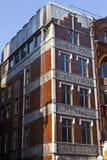 Edifícios de publicação na rua de frota em Londres imagens de stock