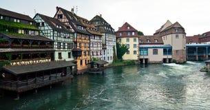 Edifícios de Strasbourg imagens de stock royalty free