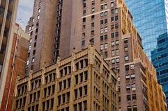 Edifícios de Tre Fotografia de Stock