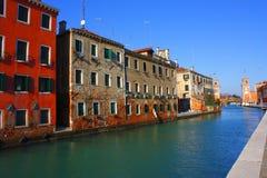 Edifícios de Veneza Foto de Stock