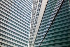 Edifícios de vidro modernos Fotografia de Stock Royalty Free