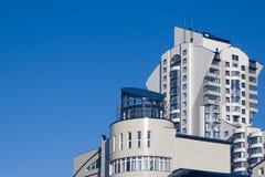 Edifícios do bairro social moderno novo imagens de stock royalty free