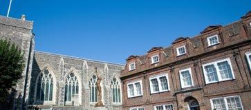 Edifícios do Conselho em Dôvar Fotografia de Stock Royalty Free