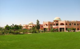 Edifícios do hotel de luxo Fotografia de Stock