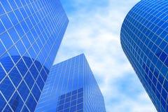 Edifícios do negócio Imagens de Stock