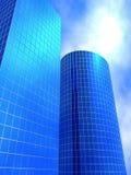 Edifícios do negócio Fotografia de Stock