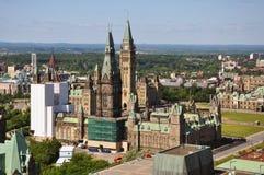 Edifícios do parlamento, Ottawa, Canadá Imagem de Stock Royalty Free