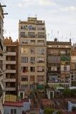Edifícios do salário baixo fotos de stock