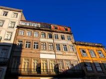 Edifícios do Tenement em Porto, Portugal Foto de Stock Royalty Free