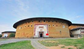 Edifícios earthen históricos imagens de stock royalty free