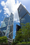 Edifícios elevados da ascensão Fotos de Stock