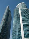 Edifícios elevados do negócio Fotos de Stock