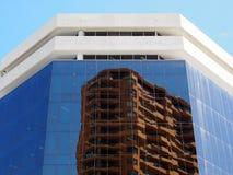 Edifícios elevados modernos da ascensão Imagens de Stock