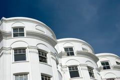 Edifícios em Brigghton imagem de stock