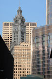 Edifícios em Chicago da baixa Imagens de Stock Royalty Free