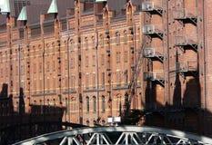 Edifícios em Hamburgo, Alemanha Foto de Stock Royalty Free