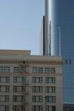 Edifícios em Los Angeles da baixa #1 Fotos de Stock Royalty Free