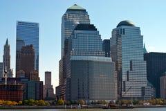 Edifícios em NYC Fotos de Stock Royalty Free