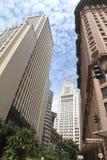 Edifícios em Sao Paulo da baixa Foto de Stock Royalty Free