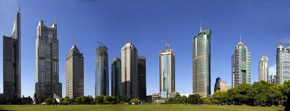 Edifícios em Shanghai Fotografia de Stock Royalty Free