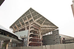 Edifícios feitos do aço. Foto de Stock Royalty Free