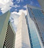 Edifícios financeiros em Miami Foto de Stock Royalty Free