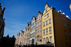 Edifícios históricos em Gdansk Imagens de Stock Royalty Free