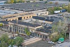 Edifícios industriais Fotos de Stock