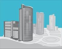 Edifícios modernos Imagens de Stock