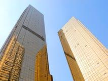 Edifícios modernos do negócio Fotografia de Stock Royalty Free