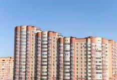 Edifícios modernos em Moscovo Imagens de Stock