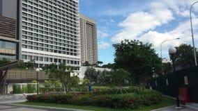Edifícios modernos em Singapore video estoque