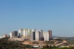 Edifícios modernos sob a construção Imagem de Stock Royalty Free