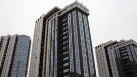 Edifícios Multi-storey Imagens de Stock Royalty Free