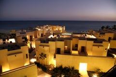 Edifícios na noite Imagem de Stock Royalty Free