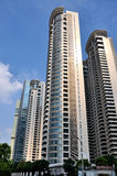 Edifícios no centro de negócios, Shanghai, China Foto de Stock Royalty Free