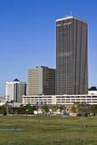 Edifícios no Oklahoma City imagem de stock