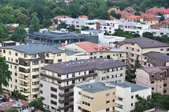 Edifícios residenciais Foto de Stock