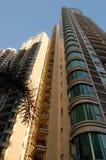Edifícios residenciais da ascensão elevada Fotos de Stock