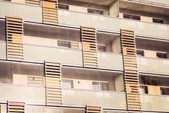 Edifícios residenciais modernos Fotografia de Stock Royalty Free