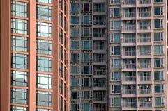 Edifícios residenciais na cidade chinesa Foto de Stock Royalty Free