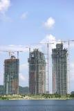 Edifícios sob a construção Imagem de Stock