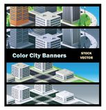 Edifícios urbanos Imagem de Stock Royalty Free