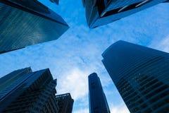 Edifícios urbanos Imagem de Stock