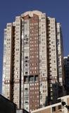 Edifícios urbanos foto de stock
